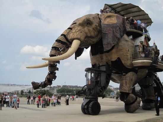 L'éléphant des Machines de l'Ile
